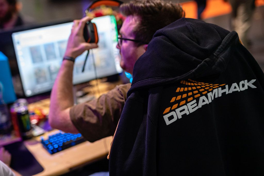 LEIPZIG, GERMANY - FEBRUARY 15: A participant sits at a computer monitor to play a video game at the 2019 DreamHack video gaming festival on February 15, 2019 in Leipzig, Germany. The three-day event brings together gaming enthusiasts mainly from German-speaking countries for events including eSports tournaments, cosplay contests and a LAN party with 1,500 participants.