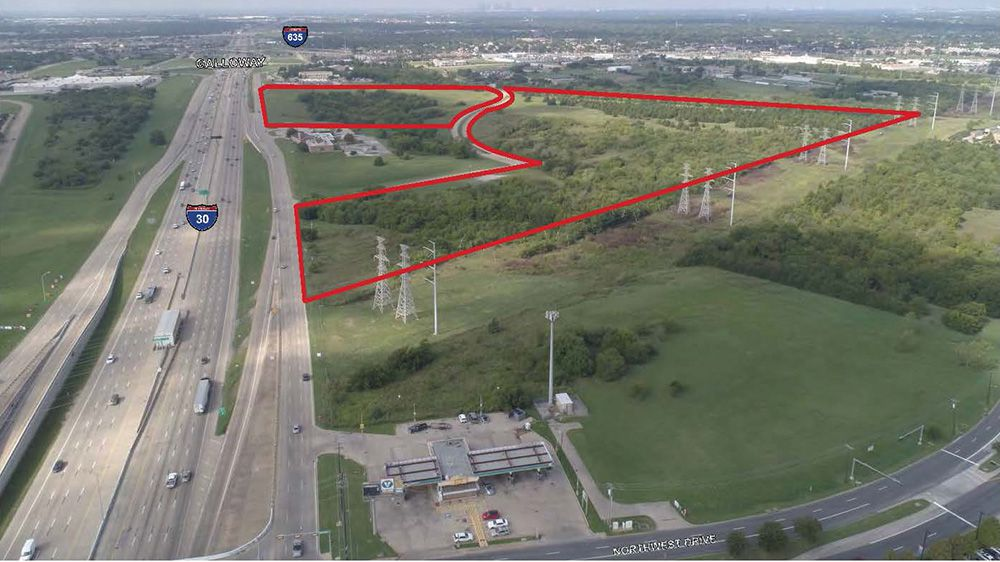 The 80-acre industrial park is planned near the intersection of LBJ Freeway and I-30.