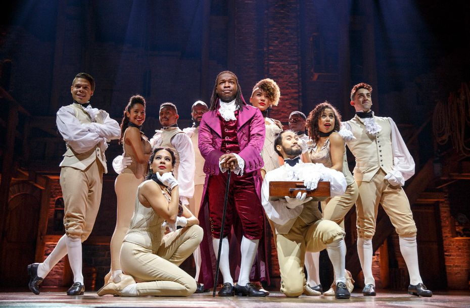 Chris De'Sean Lee and and the Hamilton Chicago Company\