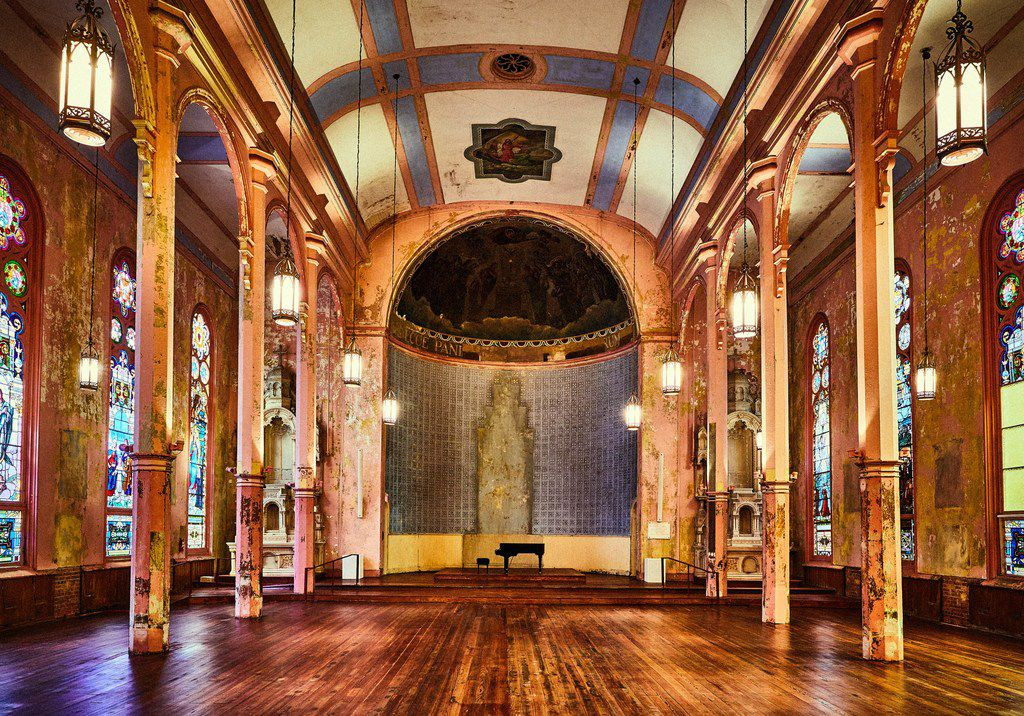 The former church is now a stylish event space at Hotel Peter & Paul in New Orleans.