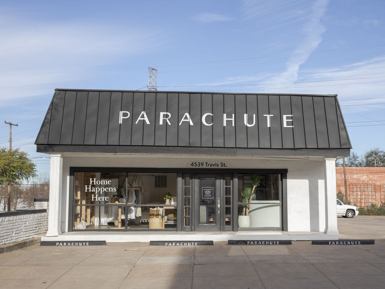 Parachute opened its first store in Texas on March 28, 2019 at 4539 Travis St. in Dallas.