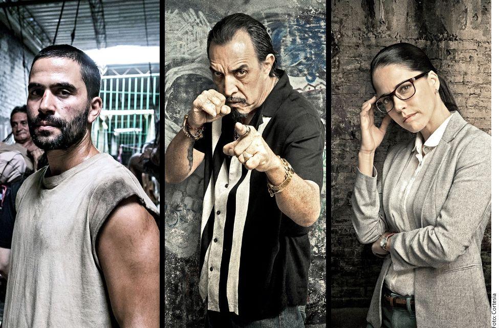 """La serie """"El Recluso"""" se estrenará el 25 se septiembre por Telemundo, que emitirá los 13 capítulos que la componen en días consecutivos. (AGENCIA REFORMA)"""