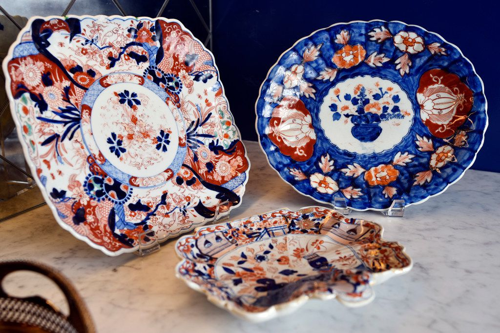 With grandmothers and a mother who love dinnerware, Whitman says it was no surprise that she does, too. Some of her favorite pieces are those that have been handed down to her.