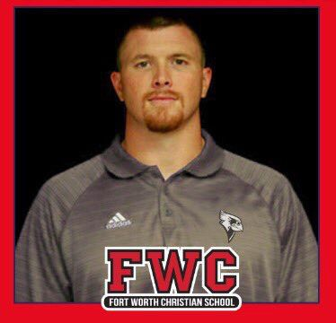 Fort Worth Christian head football coach Jared Hudgins. His hiring was announced on April 29, 2019. (Courtesy: Fort Worth Christian)