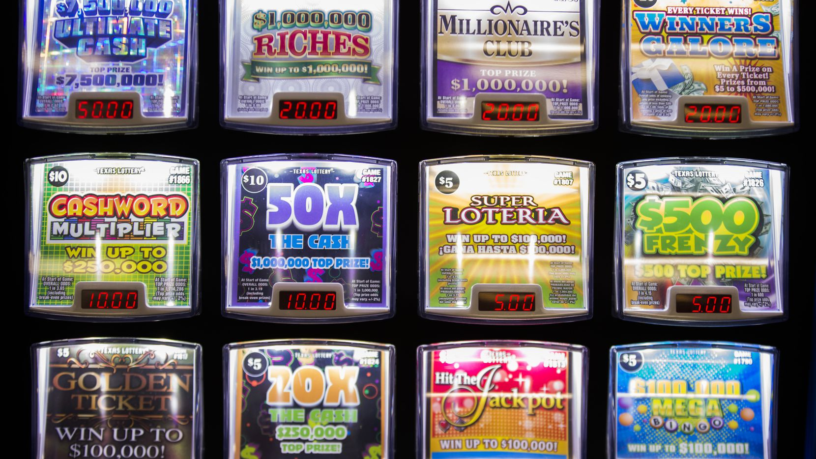Overnight millionaire: Dallas resident wins big with scratch