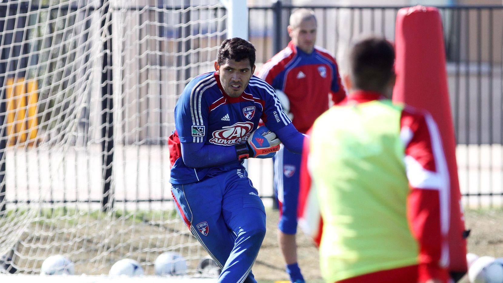 El peruano Raúl Fernández jugó para el FC Dallas entre 2013 y 2014. (ESPECIAL PARA AL DÍA/BEN TORRES)