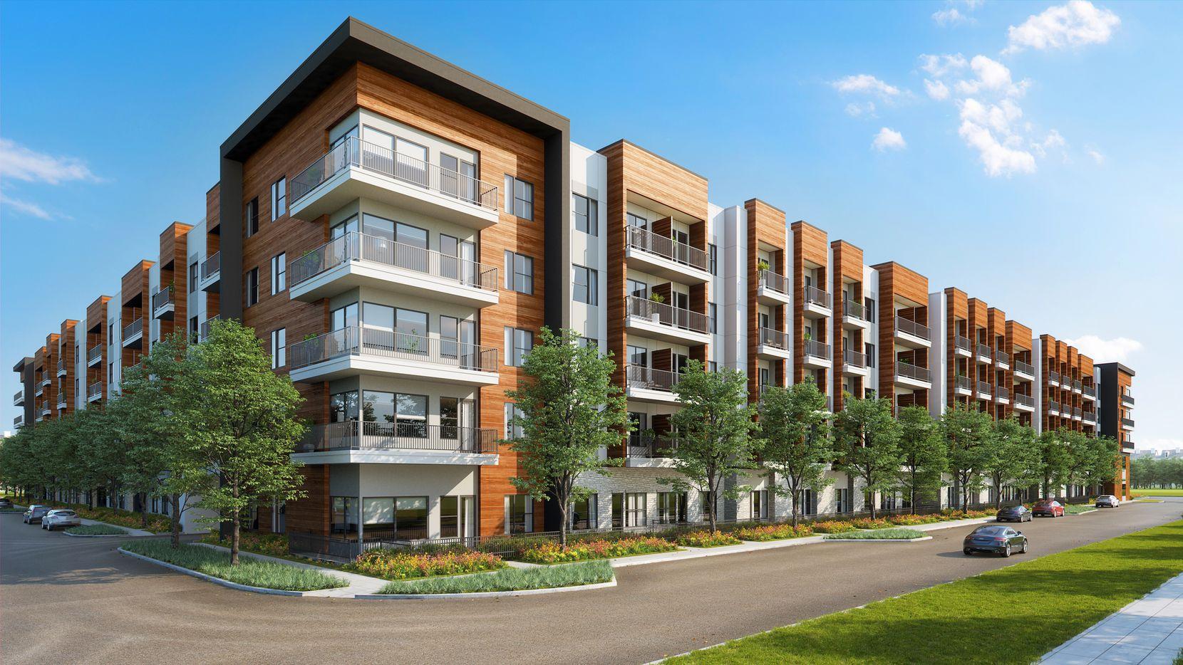 The Jefferson Innova apartments will open in 2021 in Las Colinas.
