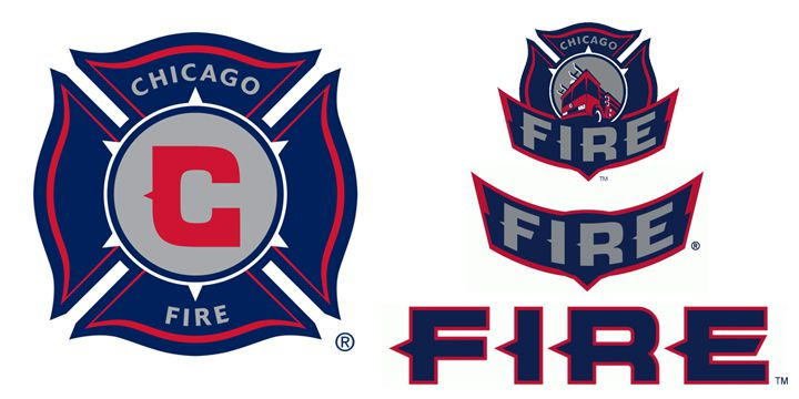 Chicago Fire logos