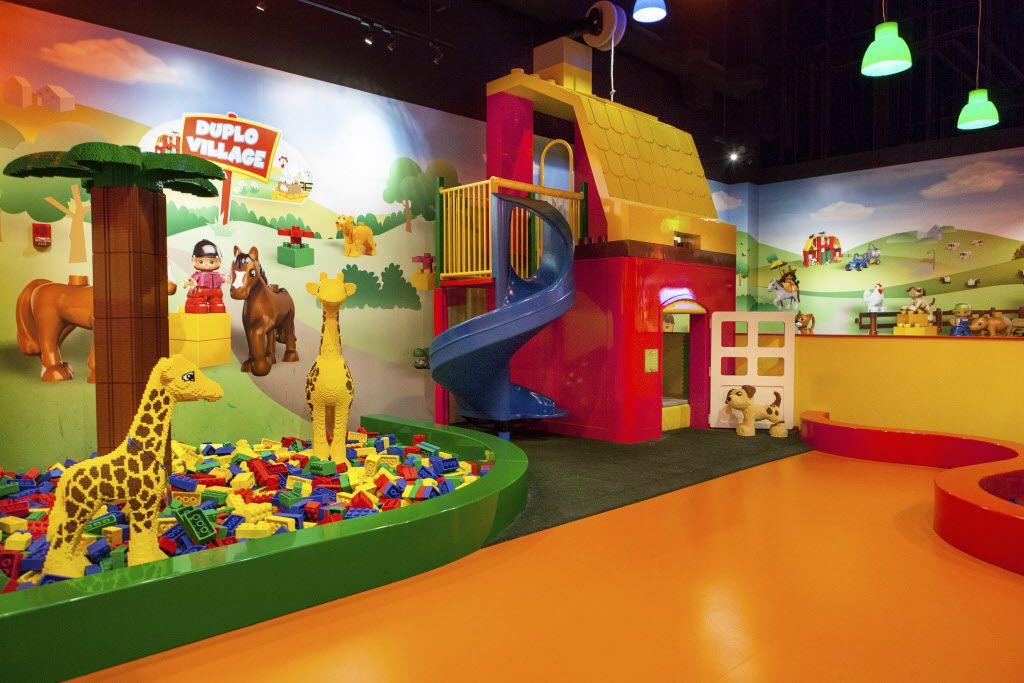 Legoland Discovery Center, Grapevine, Texas. DMN