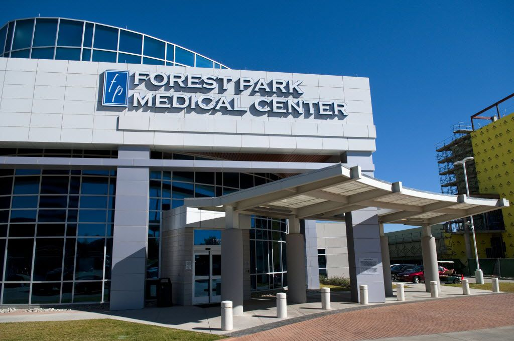 Forest Park Medical Center in Dallas before it went out of business.