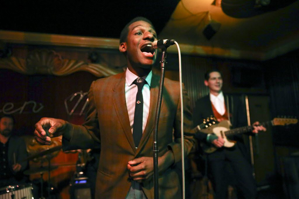 """Leon Bridges, shown performing at the Green Mill Jazz Club on April 29, 2015, in Chicago, was interviewed and performed on the """"Today"""" show Wednesday morning."""