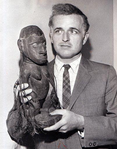 John Lunsford, curator of the Dallas Museum of Fine Arts, in 1970