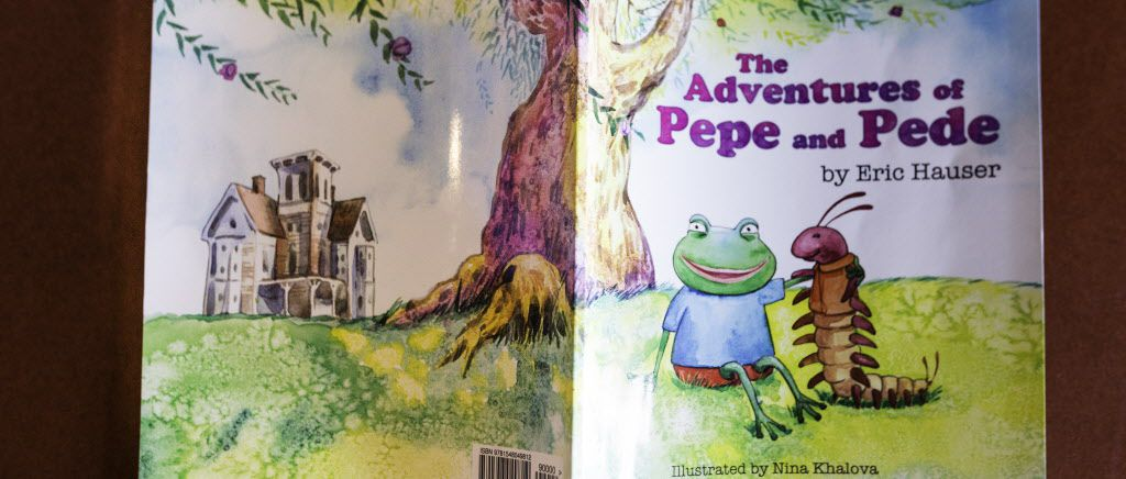 "Eric Hauser's book has sparked controversy over its title character Pepe and his link to a meme used by the white supremacist ""alt-right"" group."
