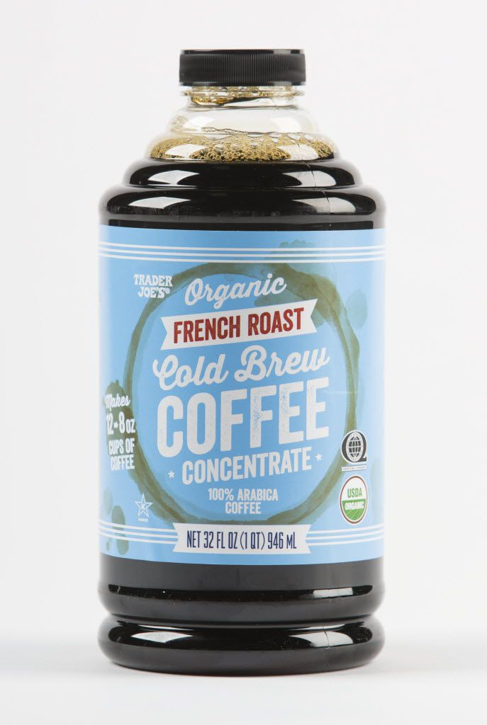 Trader Joe's organic french roast cold brew coffee concentrate