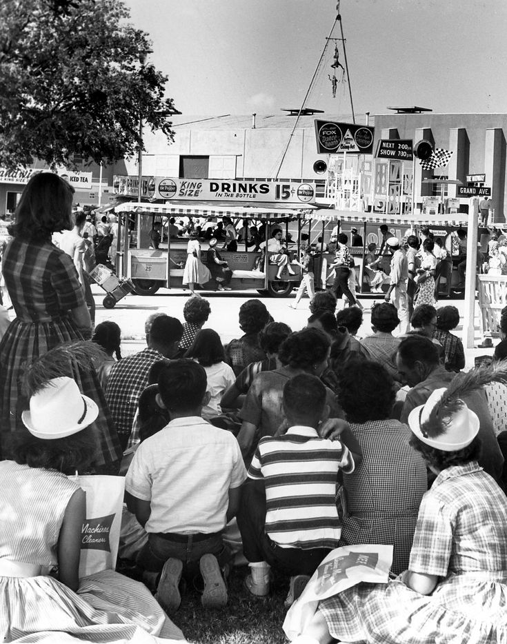 A 1960 photo at the State Fair of Texas.