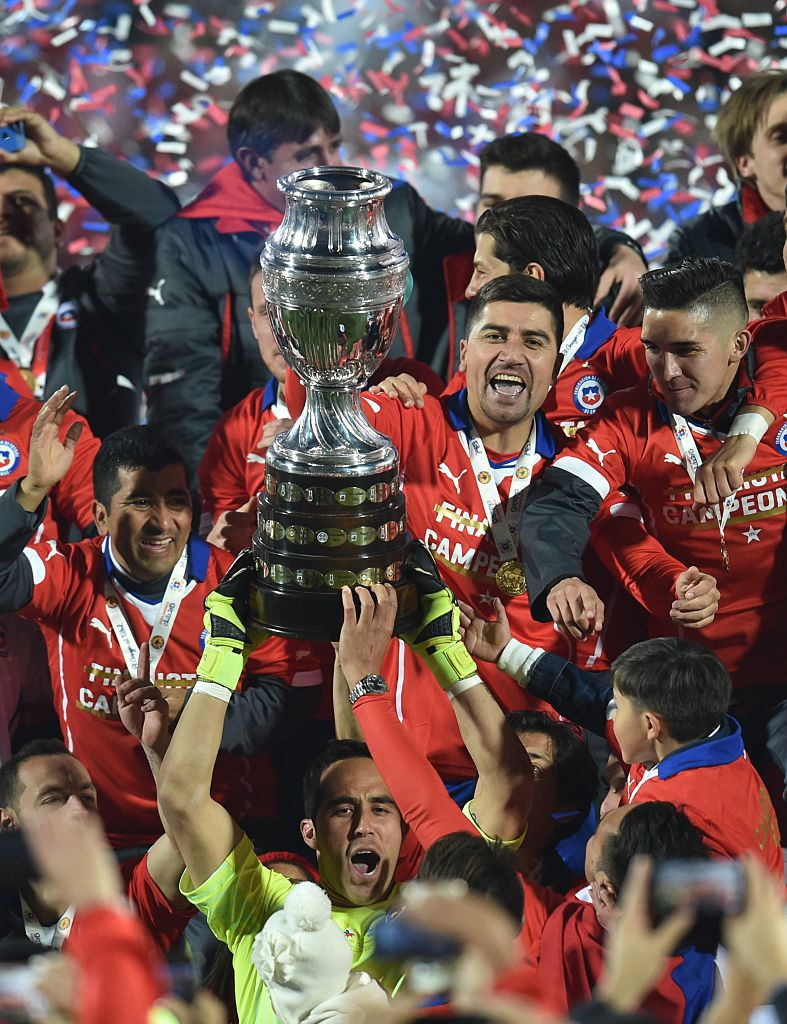 Chile ganó la Copa América 2015. Foto GETTY IMAGES