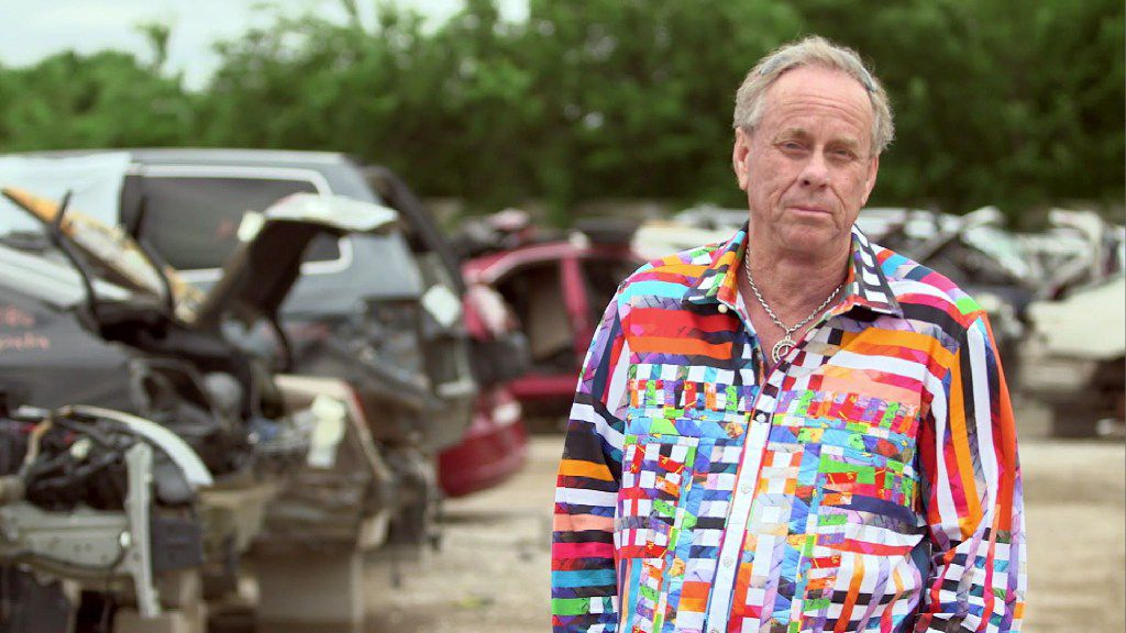 Dallas-based businessman and millionaire Ron Sturgeon is set to appear on CNBC s original primetime series,  Blue Collar Millionaire  on Jan. 11. Ron is a junkyard giant who went from living in a single-wide mobile home to making millions selling them with his auto salvage company, AAA Small Car World. Photo credit: CNBC