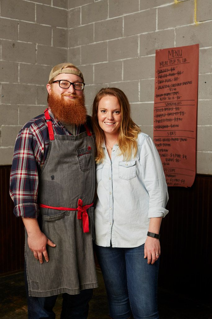 Travis and Emma Heim have grown their barbecue business from a humble trailer to two destination locations in Fort Worth in short order.