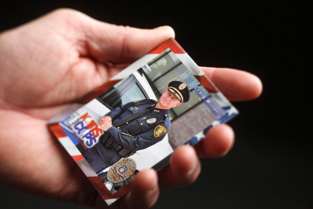 Craig Miller's business card.