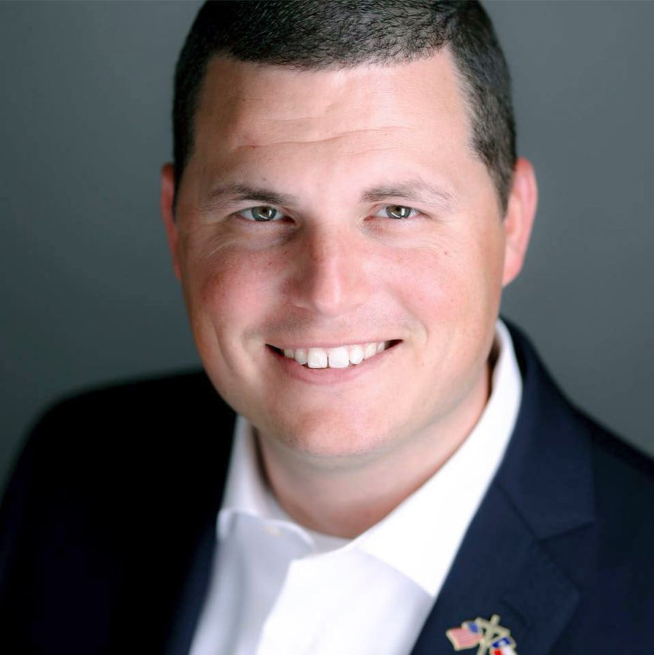 State Rep. Jared Patterson, R-Frisco, represents portions of Denton and Collin counties..