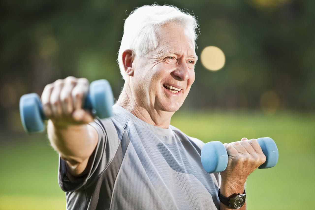 The findings of  a  study of Norwegian men fit with other research linking physical activity and a better  quality of life for seniors.