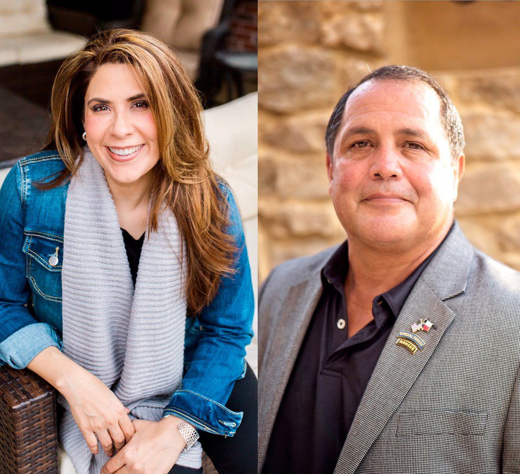 Deanna Metzger (left) and Desi Maes announced Thursday they are each running for the open congressional seat representing large parts of the Dallas-Fort Worth area. Both are Republicans who join an increasingly crowded field for the seat, which is being vacated by retiring Rep. Kenny Marchant.