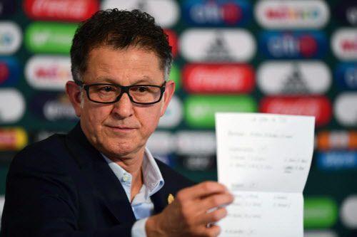 Juan Carlos Osorio. Foto AFP-Getty Images