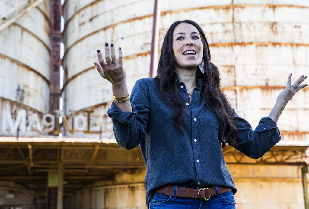 Joanna Gaines, host of HGTV's Fixer Upper, talks about her and her husband Chip's new store, Magnolia Market at the Silos on Thursday, October 29, 2015 at Magnolia Market at the Silos in Waco, Texas.   (Ashley Landis/The Dallas Morning News)