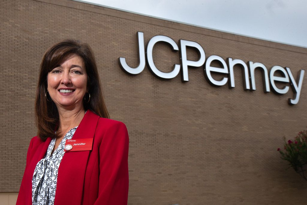 Jennifer Hipskind, senior vice president of store environment and design, poses for a portrait at the J.C. Penney located in the former Collin Creek Mall in Plano, Texas, on Monday, Aug. 5, 2019. The store will remain open while Collin Creek Mall is demolished and a new development is built around it. J.C. Penney is getting a new store and is the only tenant staying around for the multiyear, $1 billion redevelopment in Plano. (Lynda M. Gonzalez/The Dallas Morning News)
