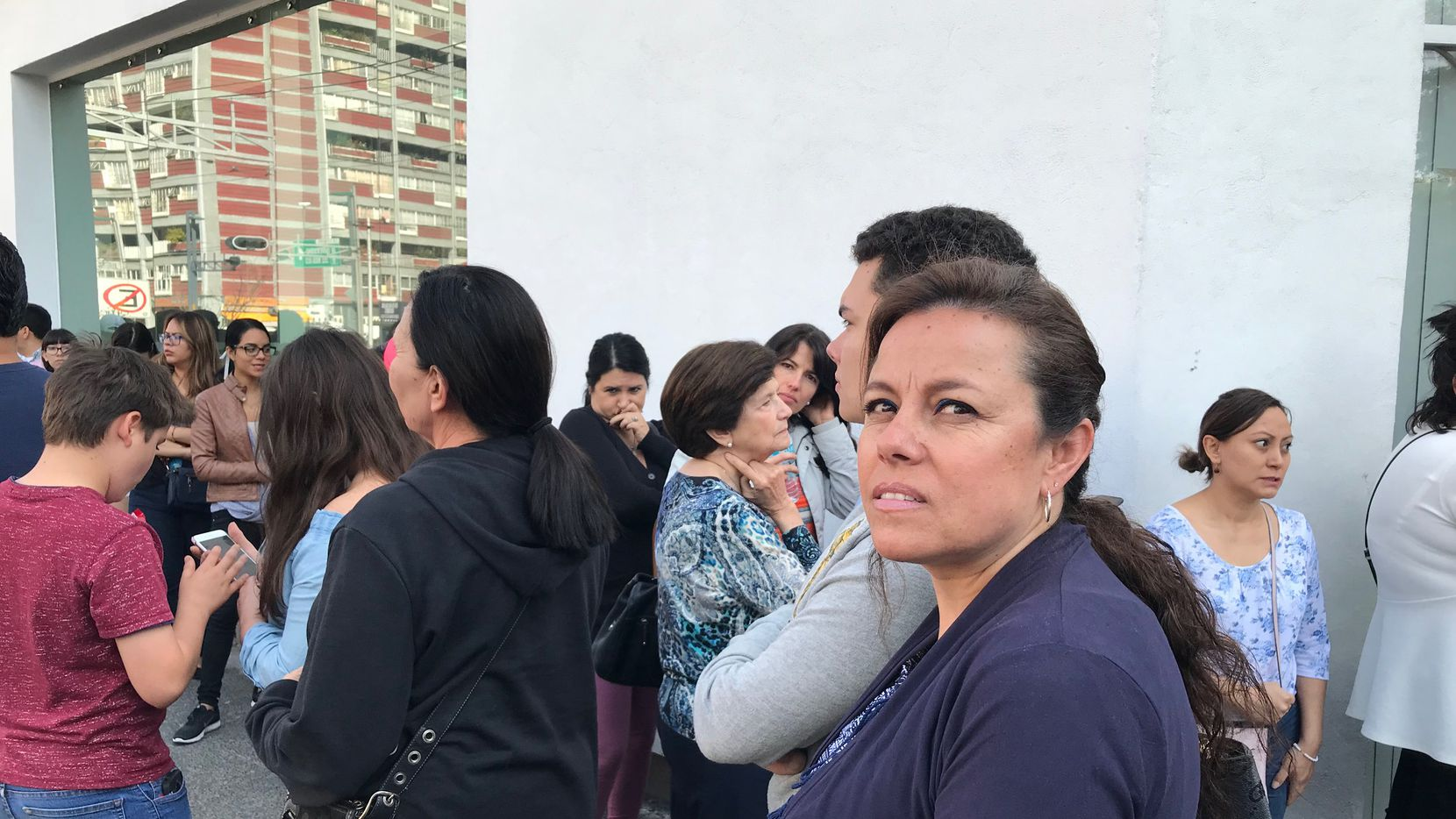Alicia Zúñiga no pudo votar en una casilla especial de la Ciudad de México, debido a que se agotaron las boletas electorales. ALFREDO CORCHADO/ DMN