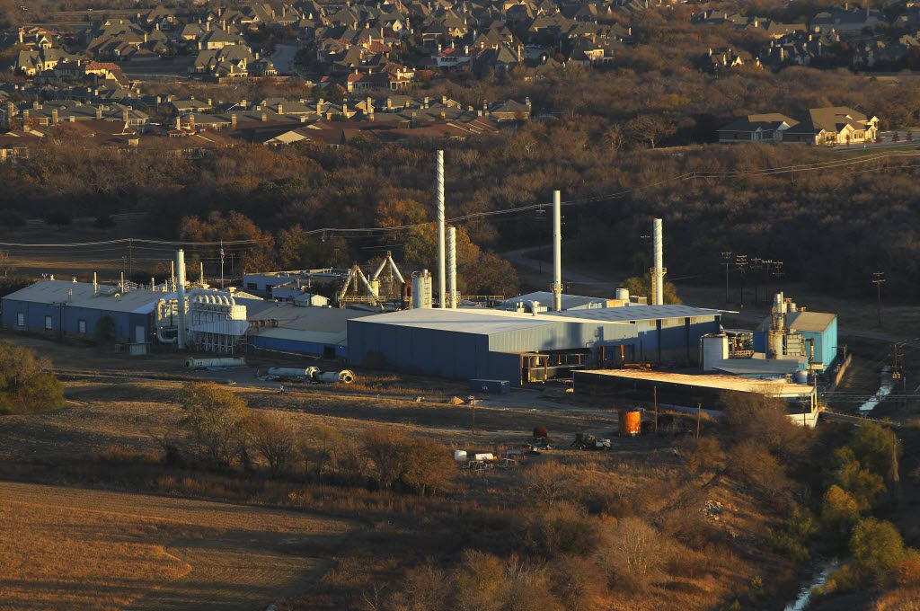 The Exide Technologies plant in Frisco, shown here on Nov. 28, 2012, has since been dismantled.