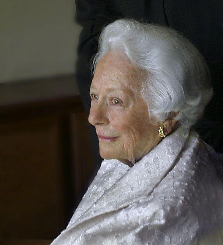 Margaret McDermott at her home in 2004.