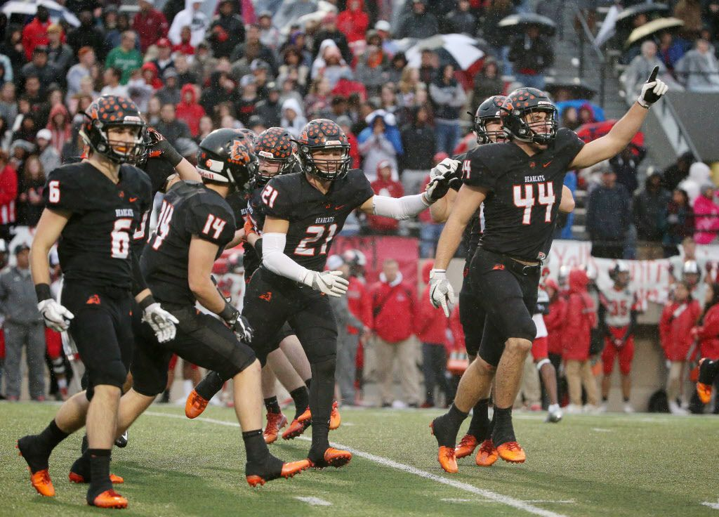 Aledo, which beat Mansfield Legacy last week, is going for its seventh state title in nine years.