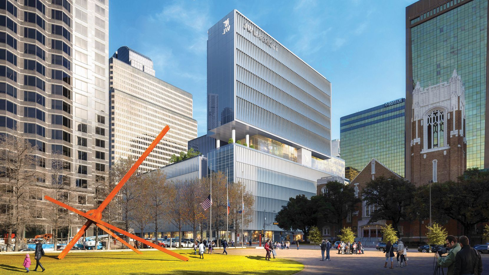 The Moon Group's new hotel will be across from the Dallas Museum of Art.