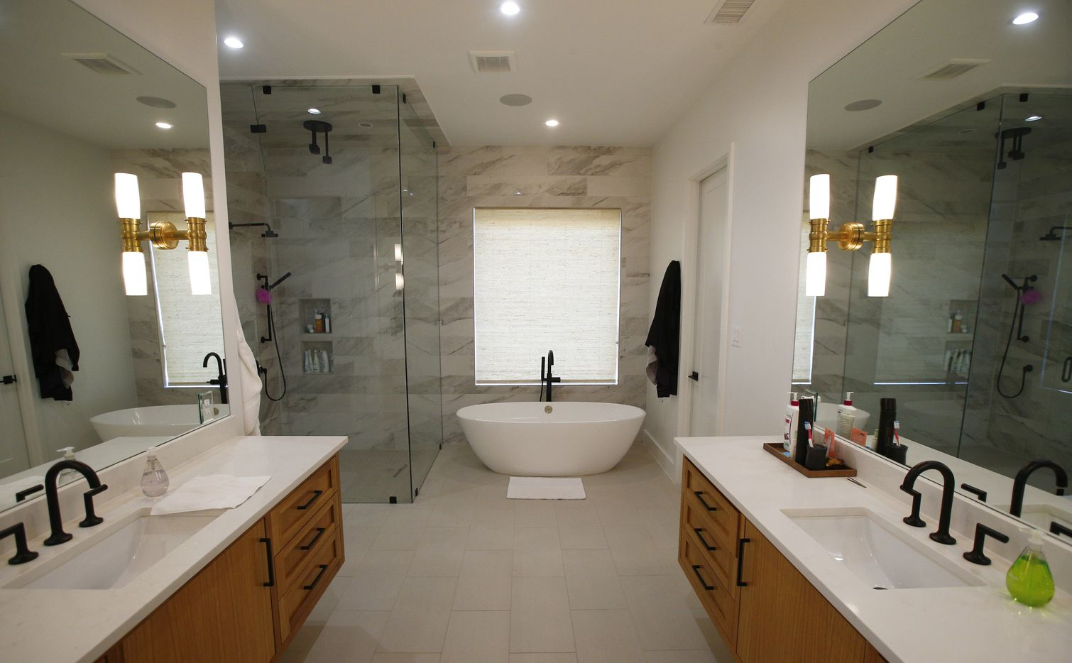 A bathroom in one of the new Centre Living Homes near Highland Park.