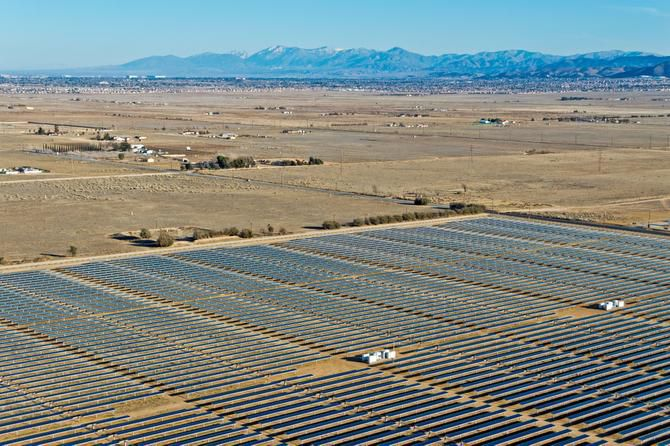 California's Mojave Desert is home to a 26-megawatt solar farm. The developer, San Francisco-based Recurrent Energy, has announced plans to build a 150-megawatt facility in West Texas. It will be the state's largest solar plant.