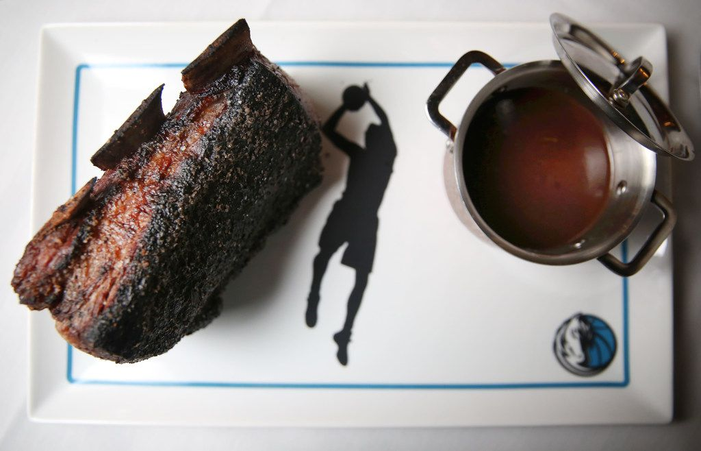 The $240 Dirk Nowitzki steak's weight matches the Mavericks player's jersey number.