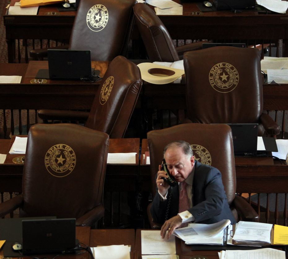 State Rep. Dan Flynn, R-Canton, is chairman of the Texas House pension committee.