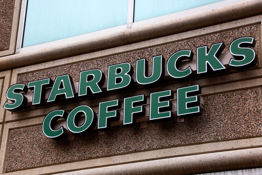 This is the sign on a Starbucks Coffee shop in downtown Pittsburgh Wednesday, Jan. 11, 2017. (AP Photo/Gene J. Puskar)