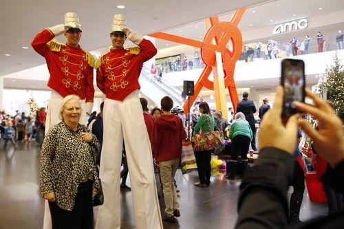 NorthPark Center celebra la Navidad con distintos eventos cada año. (BEN TORRES)