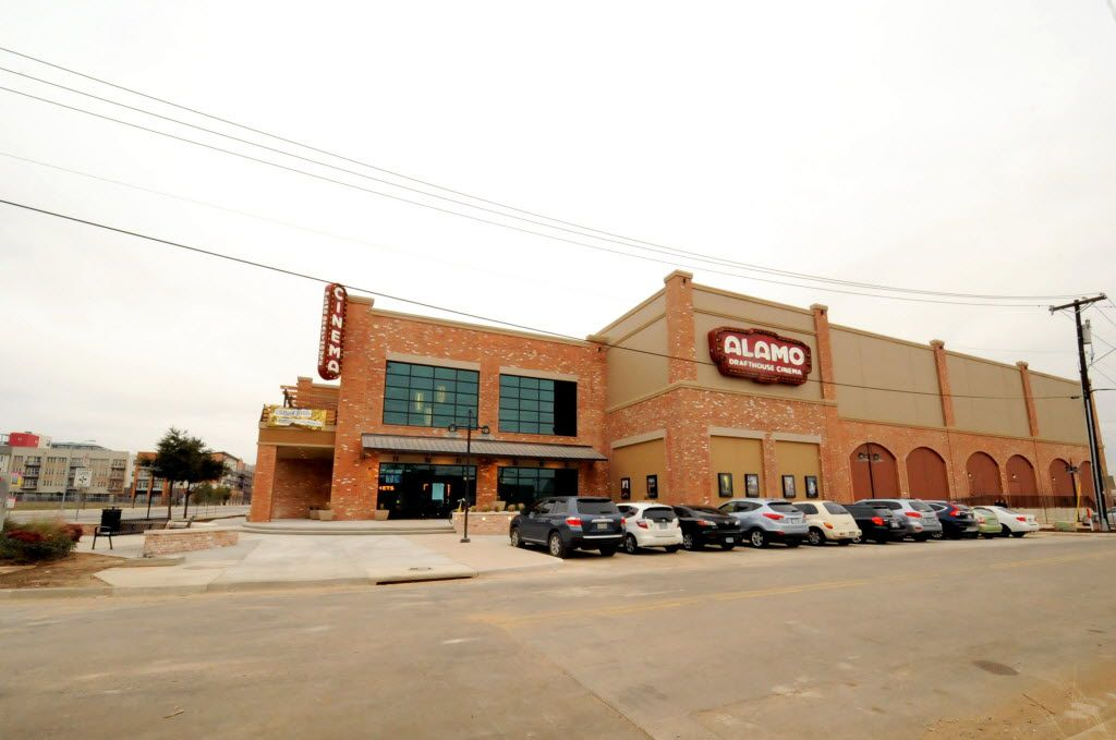 Alamo Drafthouse Cinema Dallas is crafted from salvaged brick from other local buildings in the Cedars area and will open February 12, 2016 in Dallas, TX. (Alexandra Olivia/ Special Contributor)