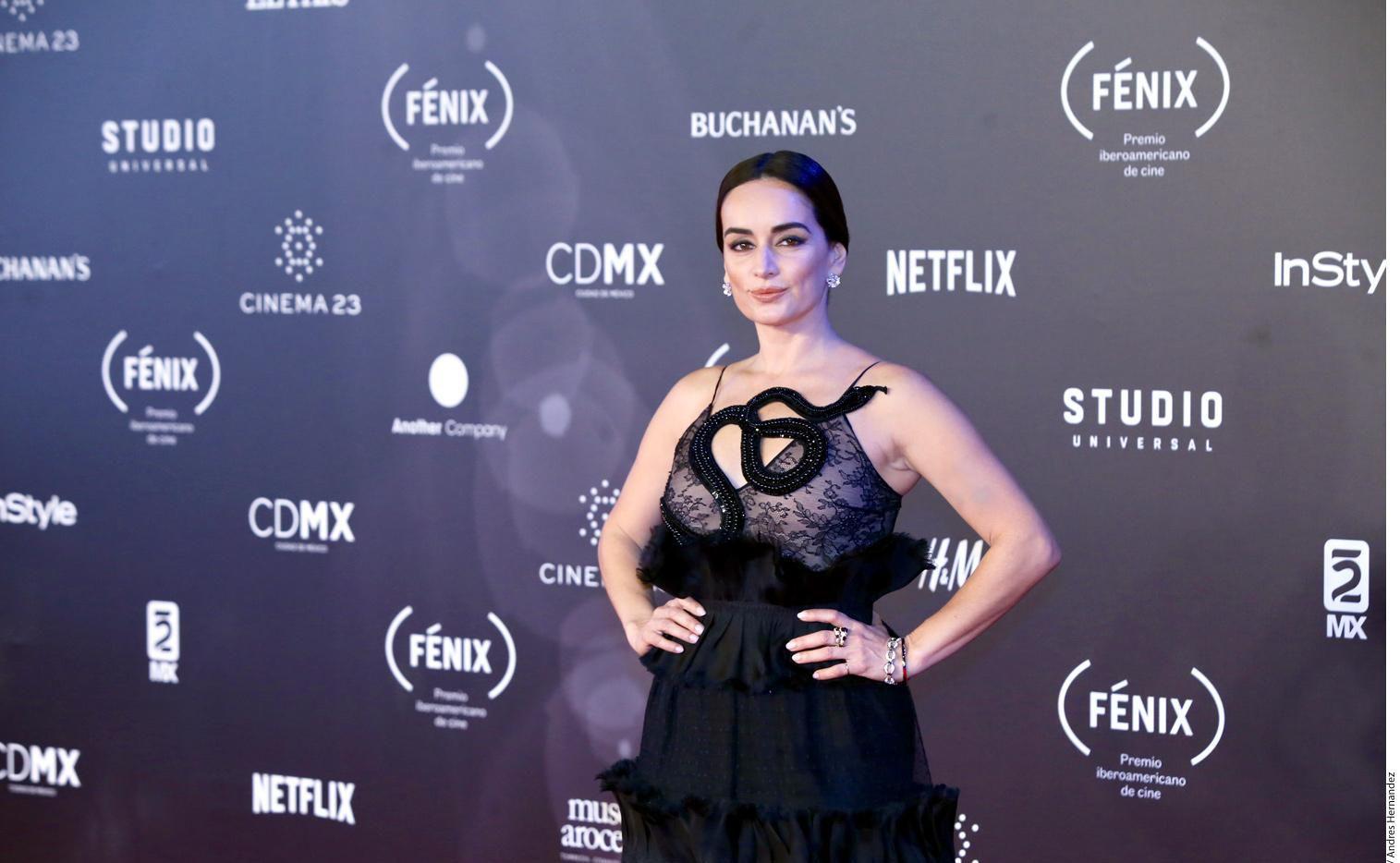 La actriz mexicana Ana de la Reguera.(AGENCIA REFORMA)