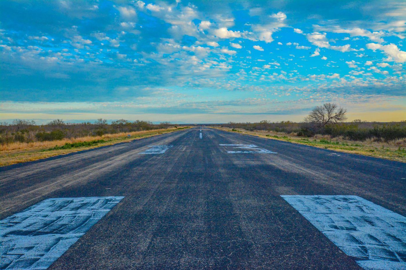 La Bandera Ranch has its own airstrip.