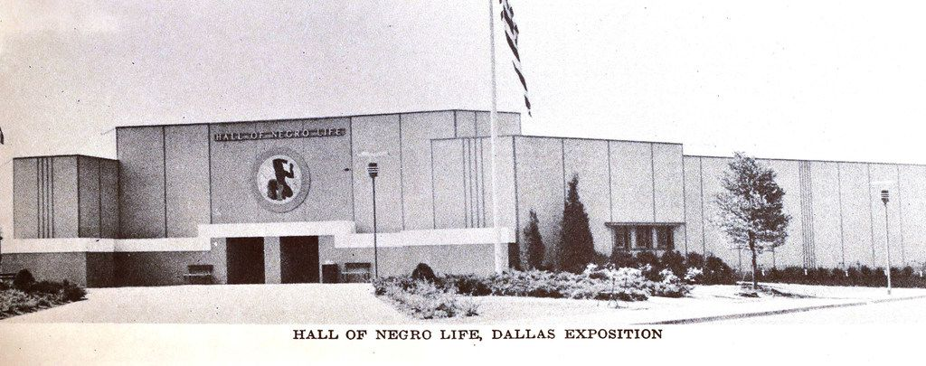 The Hall of Negro Life, which didn't survive one year at Fair Park
