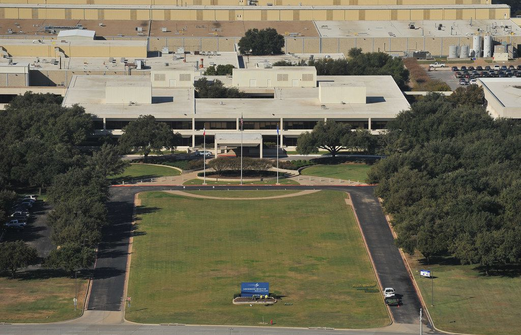 Exterior of Lockheed Martin's Missiles and Fire Control facility in Grand Prairie.