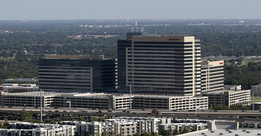 State Farm Insurance's new regional campus in Richardson on Thursday, Aug. 11, 2016.