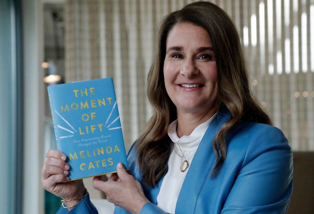 Melinda Gates, a Dallas native and the 1982 valedictorian at Ursuline Academy, is promoting her new book, The Moment of Lift: How Empowering Women Changes the World.