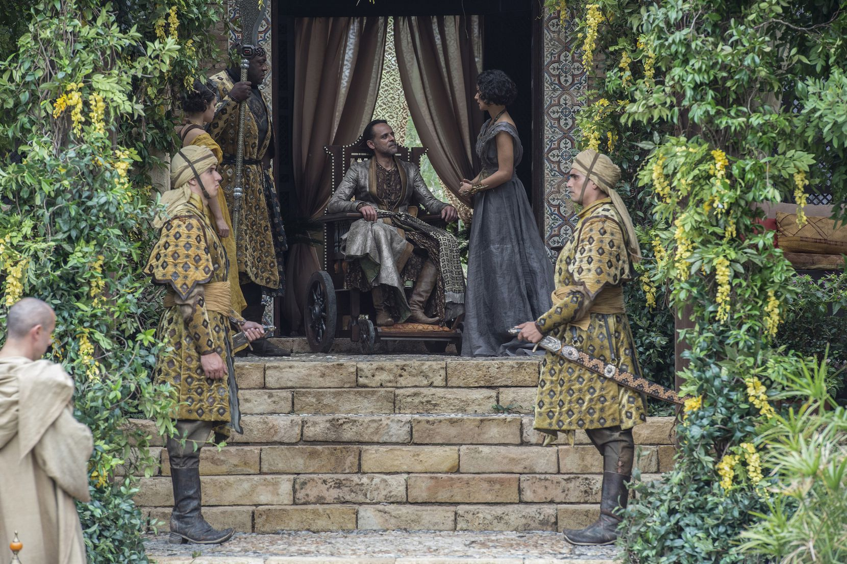 Dorne's plotline last season was a bit of a disappointment (by 'Game of Thrones' standards, at least). If the few minutes we spent there in this episode are an indicator, things are looking better.