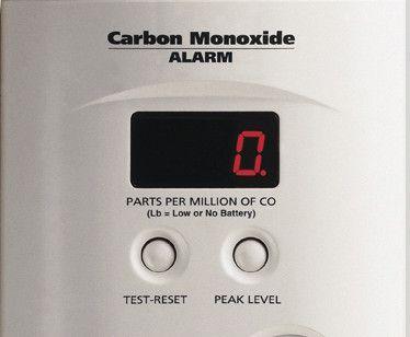 El detector de monóxido de carbono salva vidas.