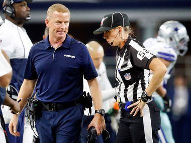 El entrenador en jefe de los Dallas Cowboys Jason Garrett está sobre la cuerda floja, tras perder tres juegos al hilo.